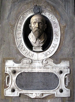 Grafmonument Stradanus in Florence