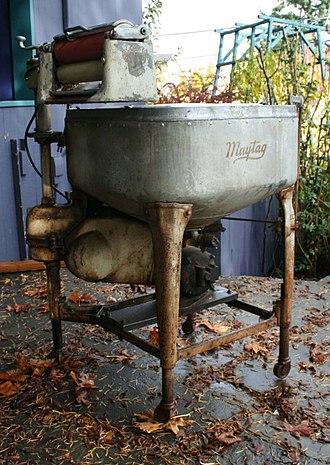 Maytag - Antique Maytag washing machine.