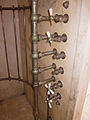 Antique shower taps - Casa Loma.jpg