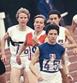 Antje Gleichfeld, Laine Kallas, Maryvonne Dupureur, Zsuzsa Szabó 1964.jpg
