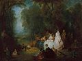Antoine Watteau - Fête champêtre (Pastoral Gathering).jpg