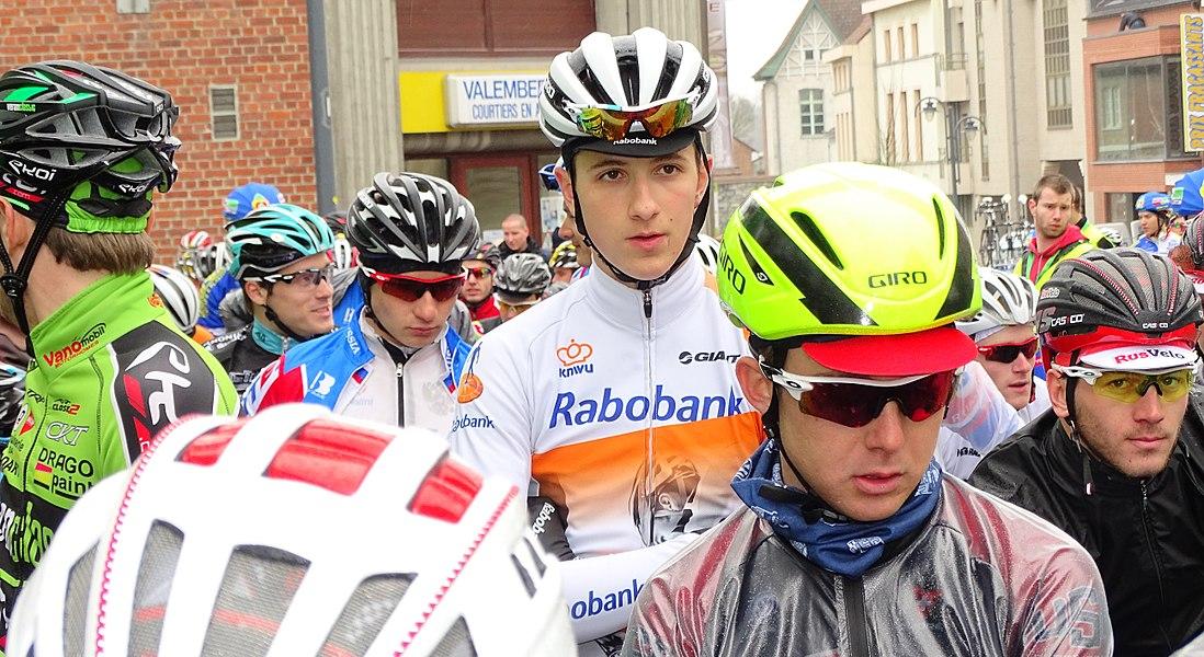 Triptyque des Monts et Châteaux 2015 Depicted team: Équipe nationale de Russie espoirs, Rabobank Development, Équipe nationale des États-Unis espoirs