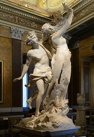 Apollo & Daphne in the Galleria Borghese