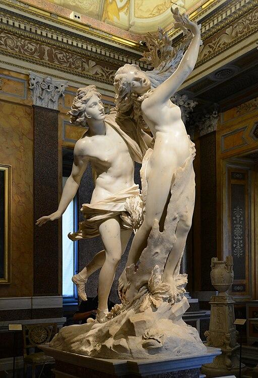 """""""Apollo and Daphne"""" by Bernini"""