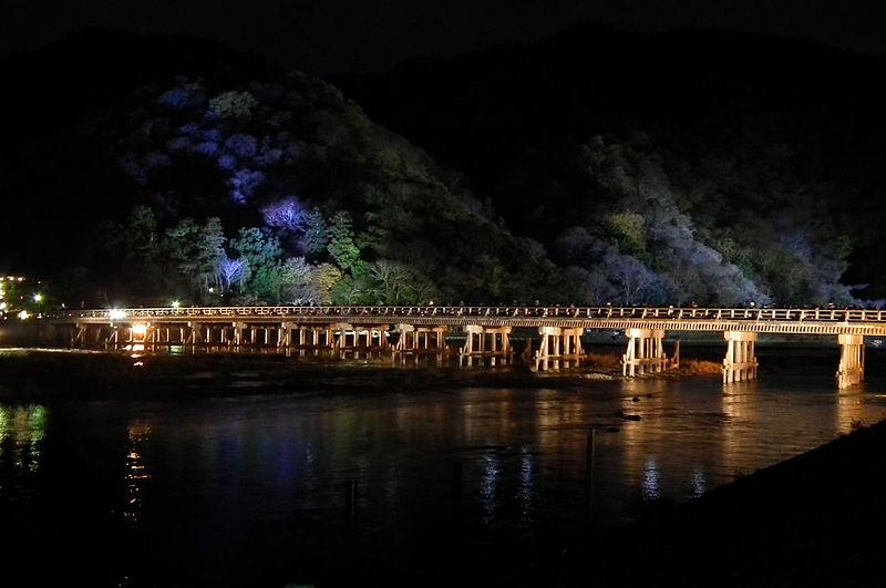 File:Arashiyama Hanatōro 嵐山花灯路 渡月橋 DSCF5478.JPG