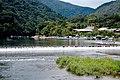 Arashiyama lake - panoramio.jpg