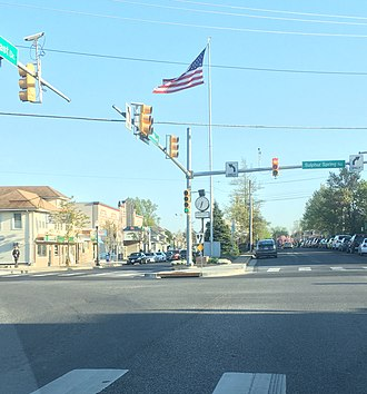 Arbutus, Maryland - Downtown Arbutus