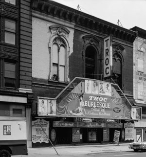 Geekadelphia - The site's staff decorated the Trocadero Theatre, pictured in 1973, for the screenings of Jennifer's Body and Zombieland.