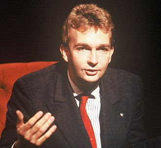 Karl von Habsburg - Appearing on UK television programme After Dark in 1989
