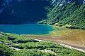 Argentina - Bariloche trekking 128 - colourful Jakob Lake (6833557804).jpg