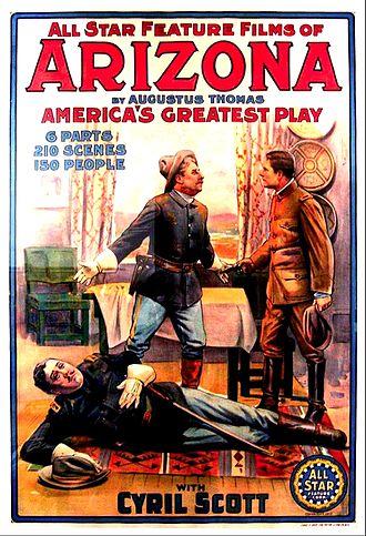 Arizona (1913 film) - Film poster