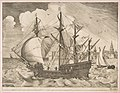 Armed Four-Master Putting Out to Sea from The Sailing Vessels MET DP818236.jpg