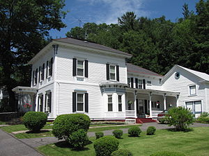 Armstrong House (North Adams, Massachusetts) - Image: Armstrong House, North Adams MA