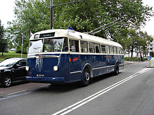 Trolleybuses in Arnhem - Image: Arnhem 101.4