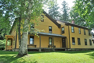 Arrowhead (Herman Melville House) - Arrowhead, Pittsfield, Massachusetts