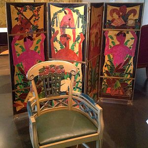 Art Deco chair and screen (1912 and 1920).jpg