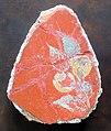 Arte romana, frammenti di affreschi con foglie e frutta, dal palatino (roma), IV stile pompeiano, 50 ca..JPG