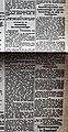 """Artikel """"Jodenvordering"""" uit """"Het Algemeen Nieuws"""" (6 November 1940) over Jodenvervolging in België (deel 2).jpg"""