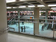 The metro station can be accessed through Asematunneli