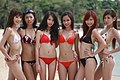 Asian models in January 2009 Bikini Shoot.jpg