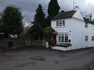 Aston Cantlow - Image: Aston Cantlow Lych gate & Old Post Office