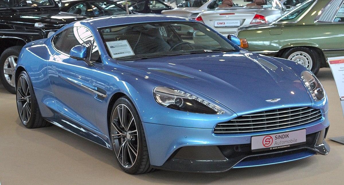 Aston Martin Vanquish Wikipedia