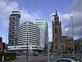 Atlantic Tower Hotel and St. Nicholas' Church - geograph.org.uk - 720135.jpg
