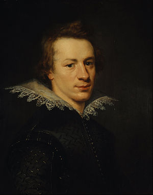 William Drummond of Hawthornden - William Drummond of Hawthornden by Abraham Blyenberch, oil on canvas 1612, Scottish National Portrait Gallery, Edinburgh