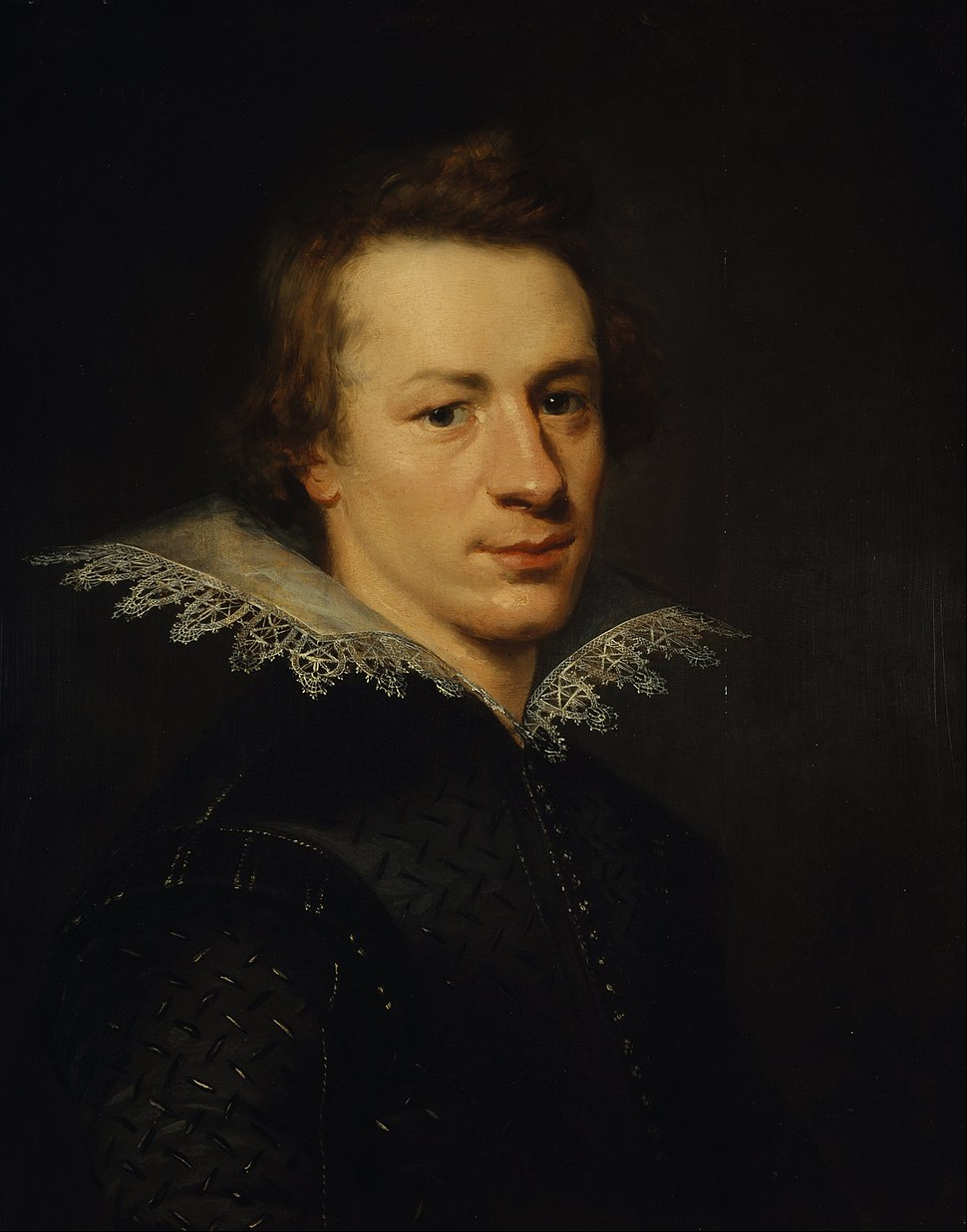 Attributed to Abraham van Blijenberch - William Drummond of Hawthornden, 1585 - 1649. Poet - Google Art Project