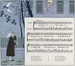 French ii chanson au clair de la lune les cours de - Ouvre moi ta porte pour l amour de dieu ...