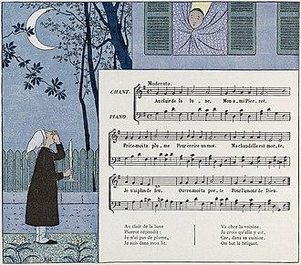 Au clair de la lune - Image: Au Clair de la Lune children's book 2