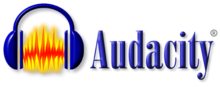 Description de l'image Audacity Logo With Name.png.