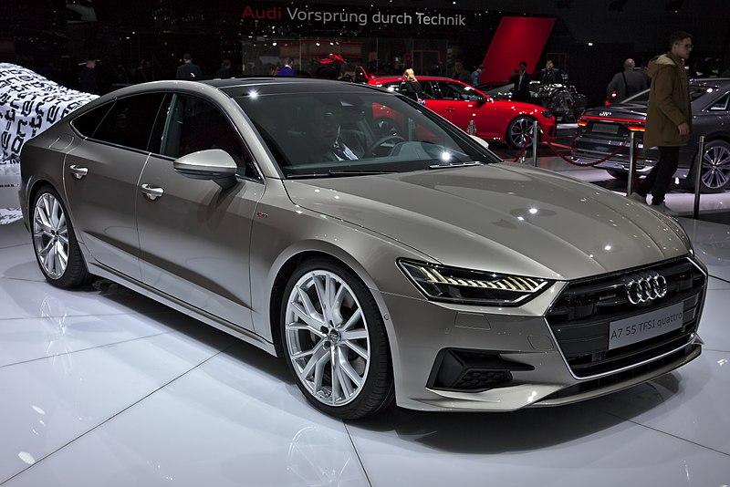 File:Audi A7 Sportback Genf 2018.jpg