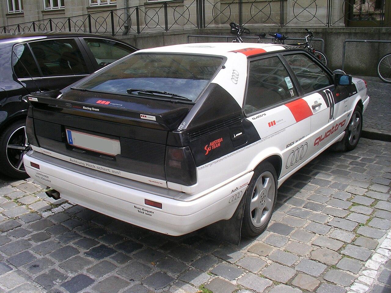 Kekurangan Audi Coupe Quattro Review