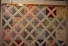 Hawaiian quilt sashiko stitching appliqué pattern japan pattern