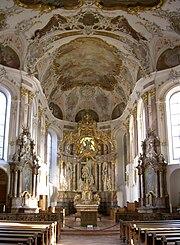 Augustinerkirche Mainz innen