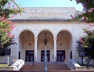 Austin History Center United States historic place