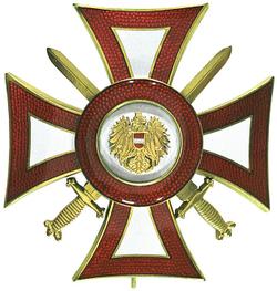 Austria Mérito Militar Decoración.png