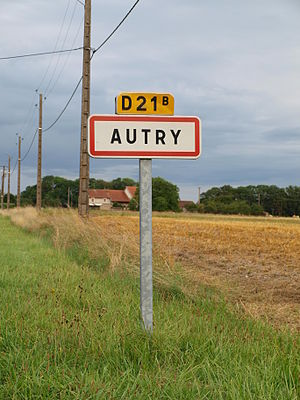 Autry - Entrance to the village