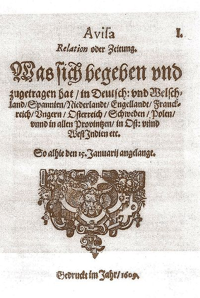 Datei:Aviso Nr.1 Januar 1609 enhanced.jpg