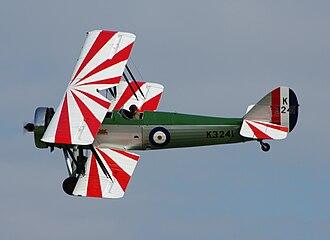 Avro Tutor - Avro Type 621 Tutor of the Shuttleworth Collection