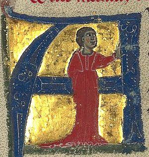 Azalais de Porcairagues - Azalais from a 13th-century chansonnier now in the Bibliothèque nationale de France.