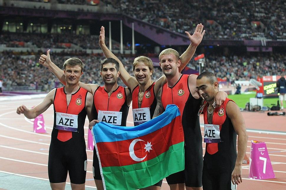 Azerbaijani athletics team at the 2012 Summer Paralympics