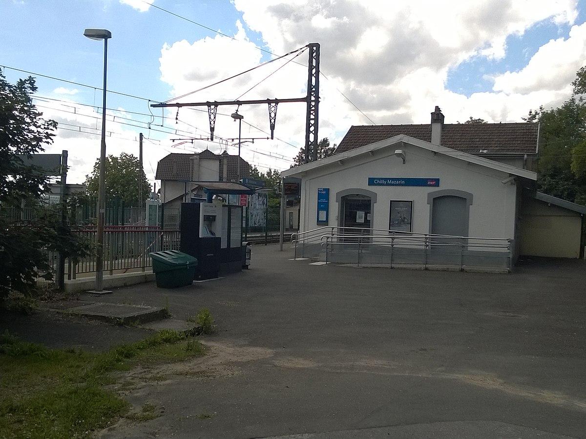 Gare de Chilly-Mazarin — Wikipédia