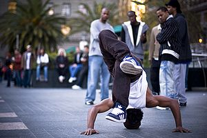 History of hip-hop dance - Image: B boy