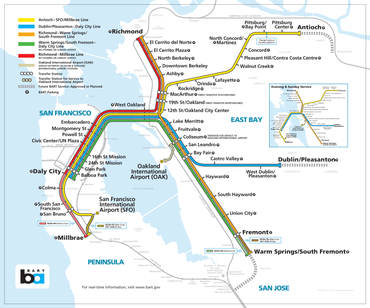 Bay Area Rapid Transit expansion - Wikipedia