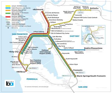 Bart San Francisco Map Stations.Bay Area Rapid Transit Expansion Wikipedia