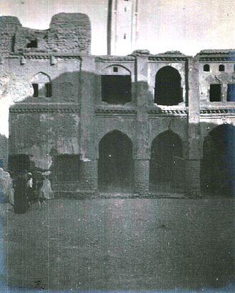 Figuig - Figuig mosque in January 1913.