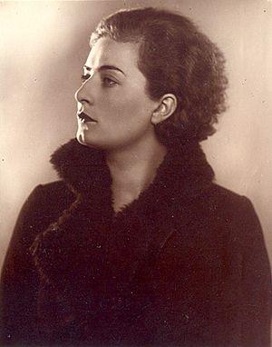 Ljuba Welitsch - Ljuba Welitsch, May 1934. Source: Bulgarian Archives State Agency