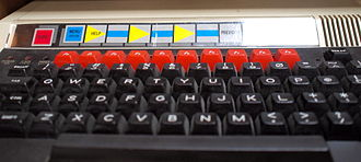 BBC Domesday Project - Function key strip for navigation